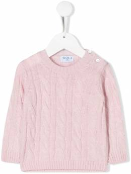 Siola - cable knit jumper 9F955360950000000000