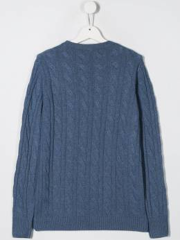 Siola - cable knit jumper 9M955365990000000000