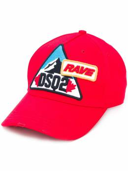 Dsquared2 - embroidered patch logo cap 609565C6666995563900