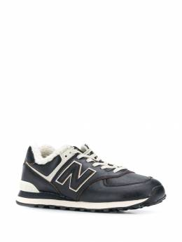 New Balance - 574 sherpa-trimmed sneakers 35V09556635500000000