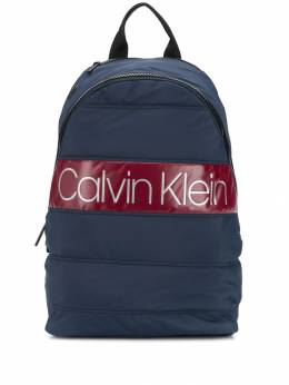Calvin Klein - quilted logo patch backpack K565383CEF9556689800