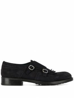 Doucal's - fringed trim monk shoes 506BERGUF60595508530