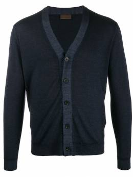 Altea - knitted slim fit cardigan 96589553503000000000