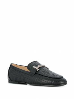 Tod's - stitched logo loafers 39A6CB56MIDB99995536