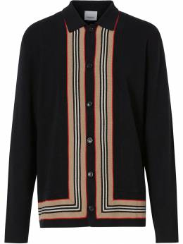 Burberry - Icon trim cardigan 93389550953900000000