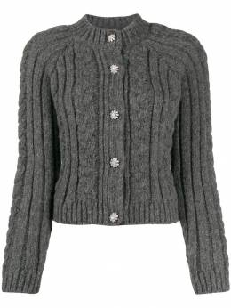 Ganni - cable knit cardigan 86056595536998000000