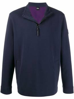 Boss Hugo Boss - relaxed-fit half-zip sweatshirt 93066955055630000000