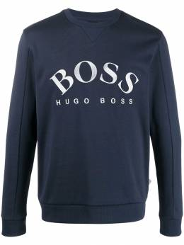 Boss Hugo Boss - embroidered logo slim-fit sweatshirt 96038955395960000000