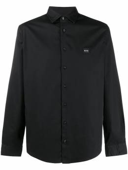 Boss Hugo Boss - embroidered logo relaxed-fit shirt 95965955055990000000