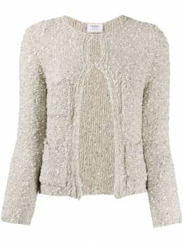 Snobby Sheep - textured front-slip cardigan 56955066860000000000