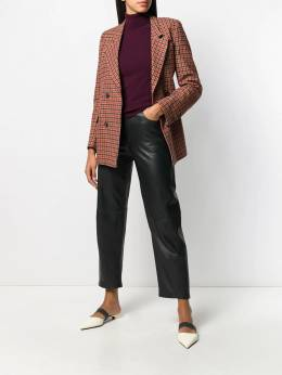 PS Paul Smith - double buttoned houndstooth jacket 960JA365589895505569