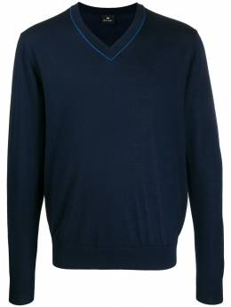 PS Paul Smith - V-neck knitted sweater 553TA066555995559336