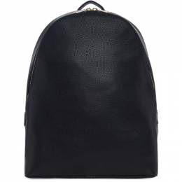 Paul Smith Black Leather Backpack 192260M16600801GB