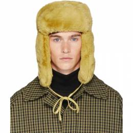 Paul Smith	 Yellow Matthew Traper Hat M1A 995E A10390