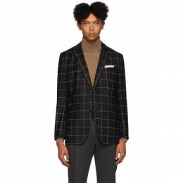 Boss Black Check Heartly Blazer 192085M19500904GB