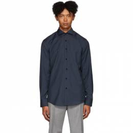 Boss Navy Wool Jason Shirt 192085M19202707GB