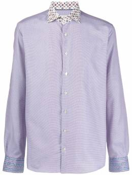 Etro long-sleeve fitted shirt 129113410