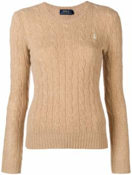 Polo Ralph Lauren	 classic cable-knit sweater 211525764