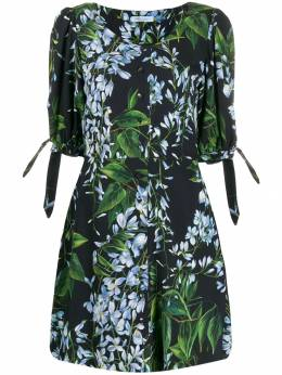 Blumarine - foliage floral print dress 99558965500000000000