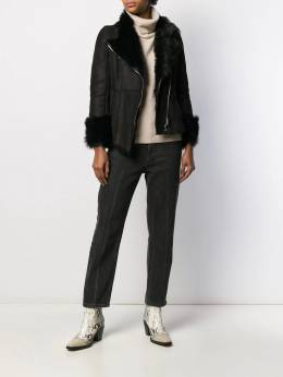 Patrizia Pepe - asymmetric fitted jacket 858A0809559035300000