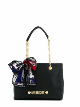 Love Moschino - scarf-detail tote bag 006PP68KD69553089500