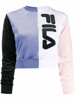 Fila - logo colour block sweatshirt 69695589096000000000