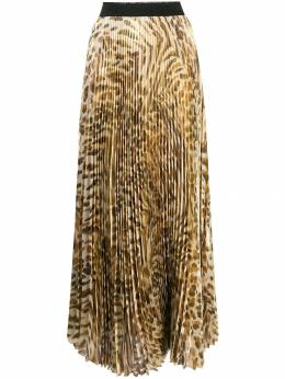 Blumarine - printed pleated long skirt 89559930600000000000
