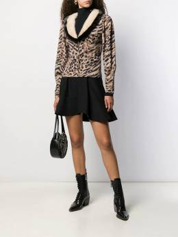 Blumarine - animal print cardigan 39559930600000000000