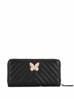 Twin-Set - quilted butterfly-plaque wallet TA396895663560000000