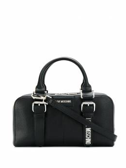 Love Moschino - dual-buckle tote bag 035PP68KM69553086900