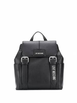 Love Moschino - dual-buckle backpack 035PP68KM69553086800