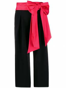 Moschino - bow detail cropped trousers 90550595565335000000