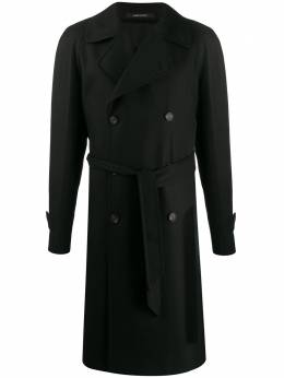 Tagliatore - fitted double-breasted coat LEY95UIC959955935680