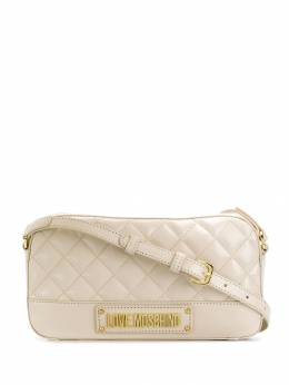 Love Moschino - logo-plaque quilted crossbody 069PP68KA69553080600