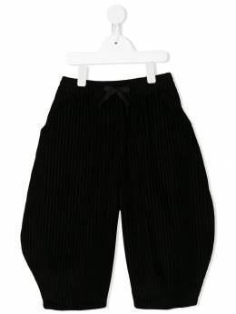 Burberry Kids - elasticated striped pattern trousers 33059509588300000000
