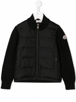 Moncler Kids - padded knit jacket 60659569895535865000
