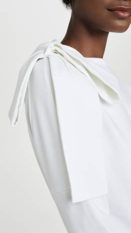 Victoria Victoria Beckham Bow Shoulder Top