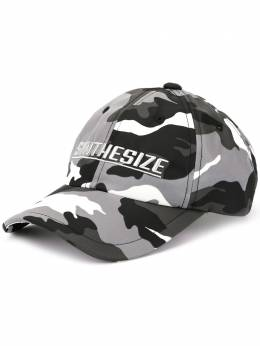 Juun.J - Synthesize embroidered baseball cap 38BW60M9558386500000