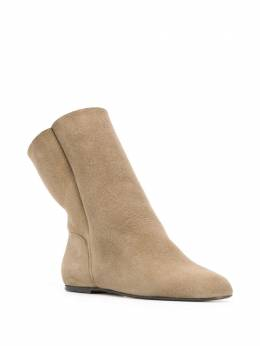 Isabel Marant - Rullee shearling boots 36399A659S9558556000