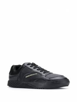 Emporio Armani - embossed logo low-top sneakers 083XM999956659050000