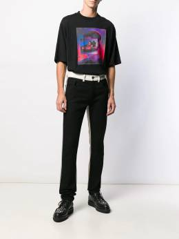 Marcelo Burlon County Of Milan - patchwork slim jeans A663E99B056958869956