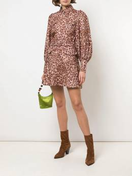 Zimmermann - leopard shirt dress 0DRES955935690000000