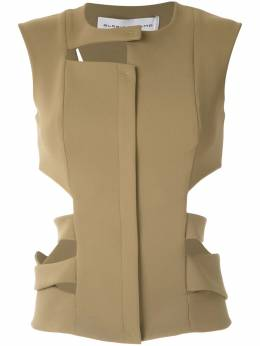 Gloria Coelho - cut out vest D6699508533300000000