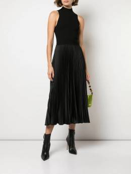 Polo Ralph Lauren - pleated panel midi dress 36556666995666063000