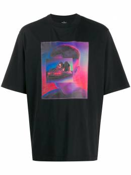 Marcelo Burlon County Of Milan - bumper car print T-shirt A655F996696959688955