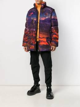 Marcelo Burlon County Of Milan - пуховик Fantasy D605F99B596588869955