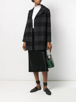 Theory - checked double-faced coat 69595956699300000000