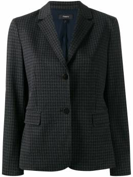 Theory - houndstooth single-breasted blazer 06965955835950000000