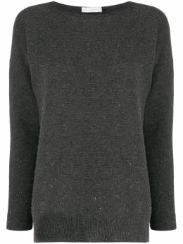 Fabiana Filippi - round neck relaxed-fit jumper 909W360D653956983960