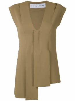 Gloria Coelho - asymmetric cut out vest P6699539633600000000
